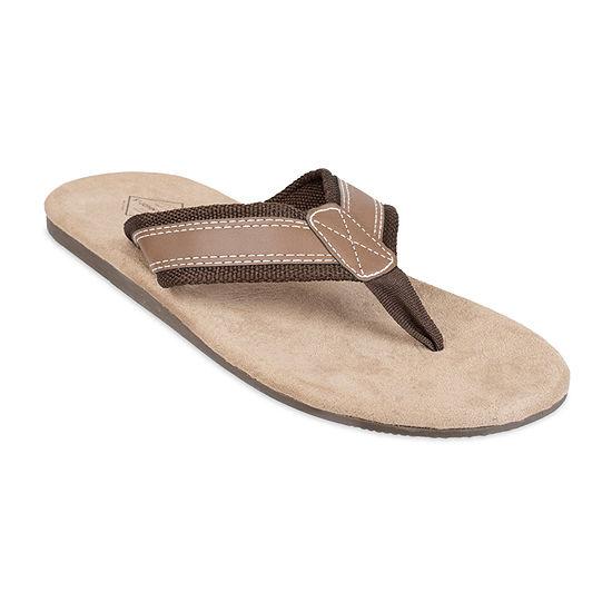 St. John's Bay™ Webbed Strap Flip Flops