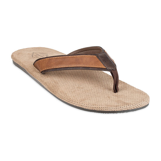 St. John's Bay™ Perforated Cushioned Flip Flops