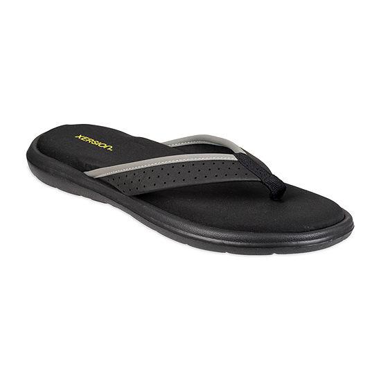 Xersion® Memory Foam Flip Flops