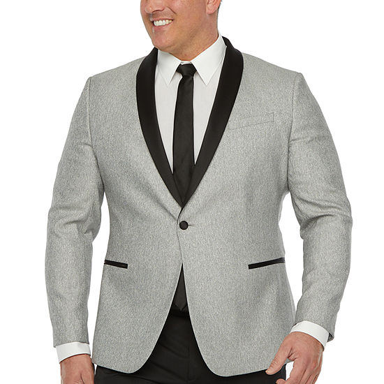 JF J.Ferrar Mens Classic Fit Tuxedo Jacket - Big and Tall