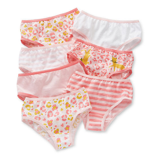 Okie Dokie Toddler Girls 7 Pack Brief Panty