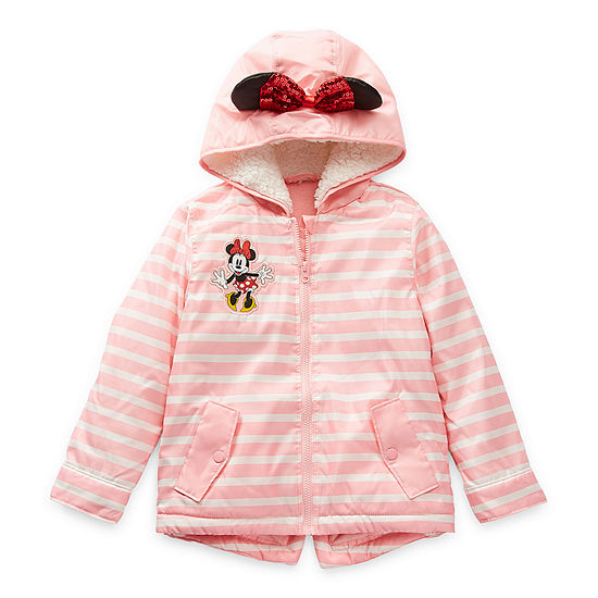 Disney Collection Little & Big Girls Midweight Windbreaker