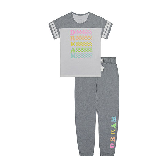 Sleep On It Big Girls 2-pc. Pant Pajama Set