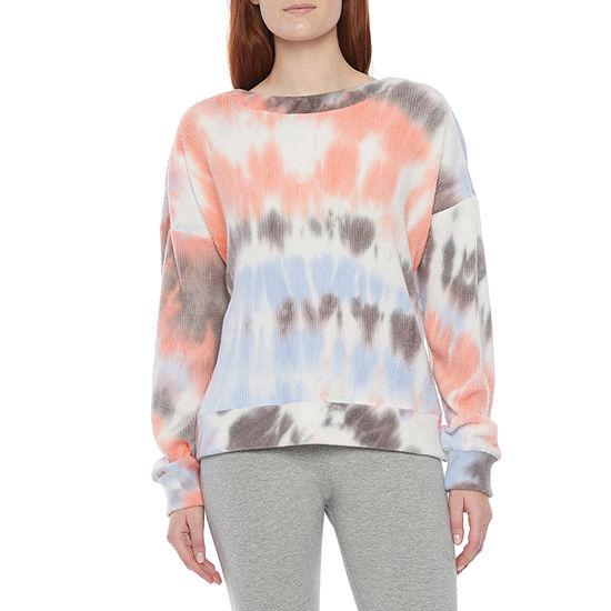Flirtitude Juniors Strappy Sweatshirt