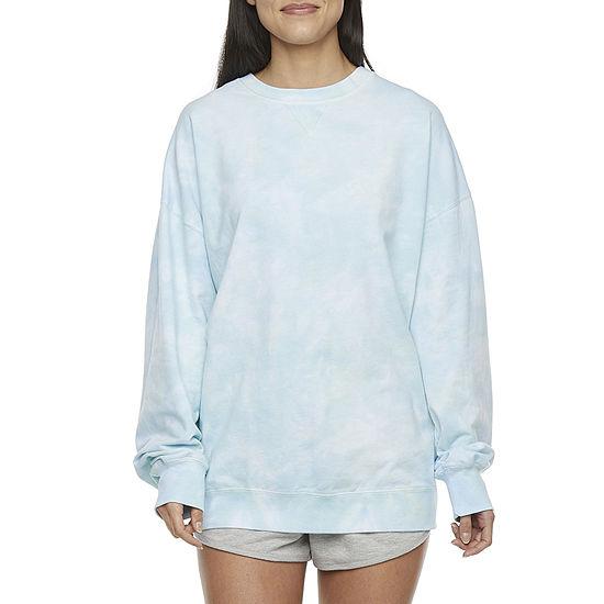 Flirtitude Juniors Tie-dye Sweatshirt
