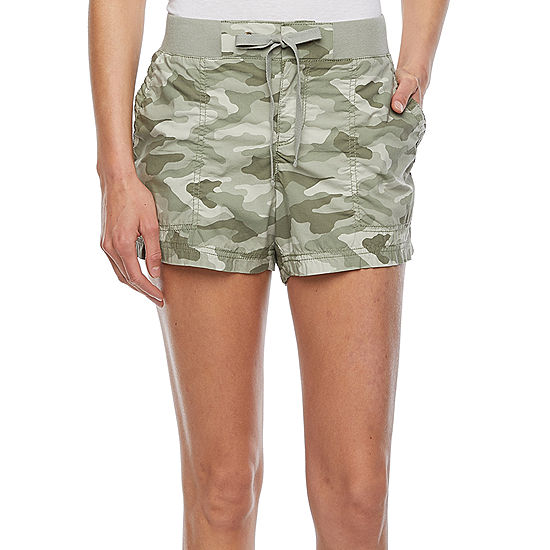 Starting at .99 Womens Knit Waist Short at JCPenny!