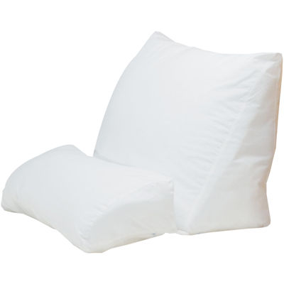 Fiber-Flip Wedge Pillow