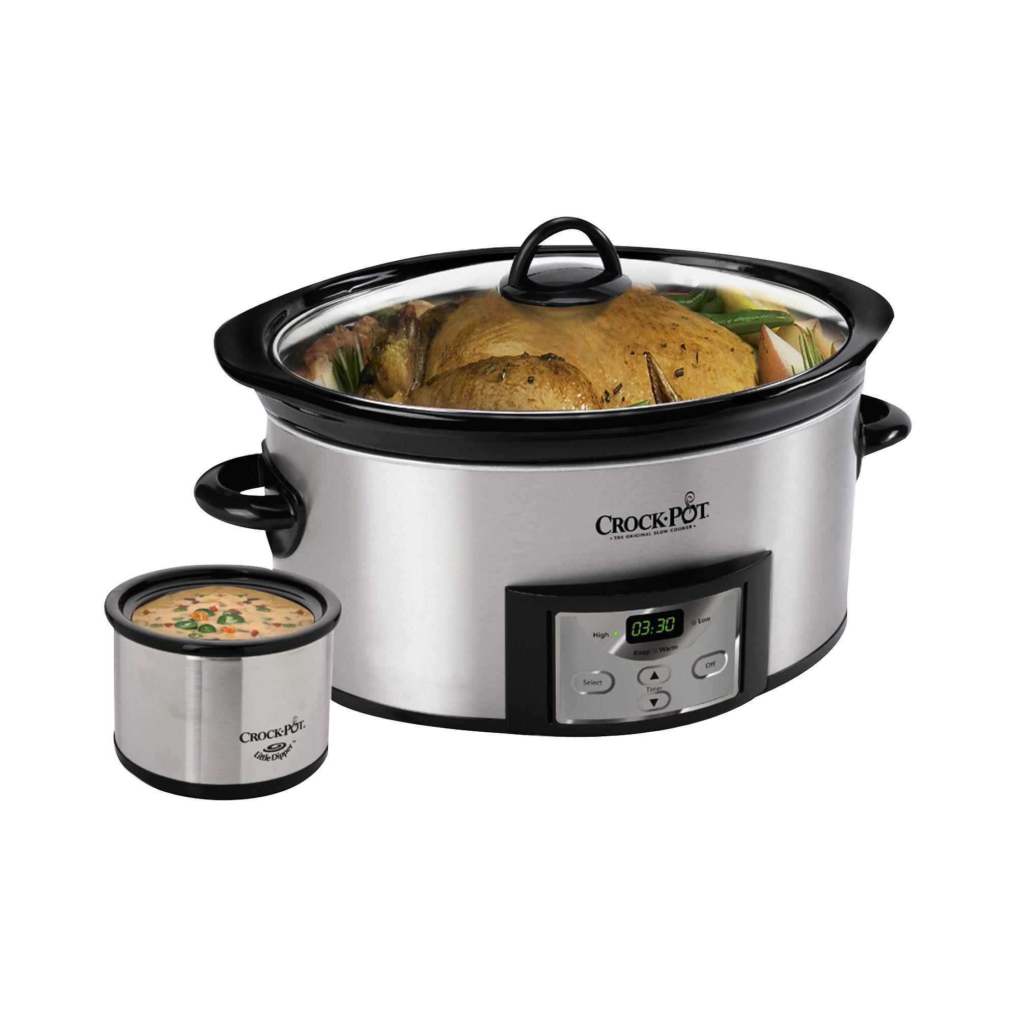 "Crock-Pot 6-Qt. Slow Cooker & Little Dipper"""