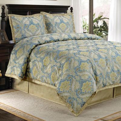 Sullivan 4-pc. Jacquard Comforter Set