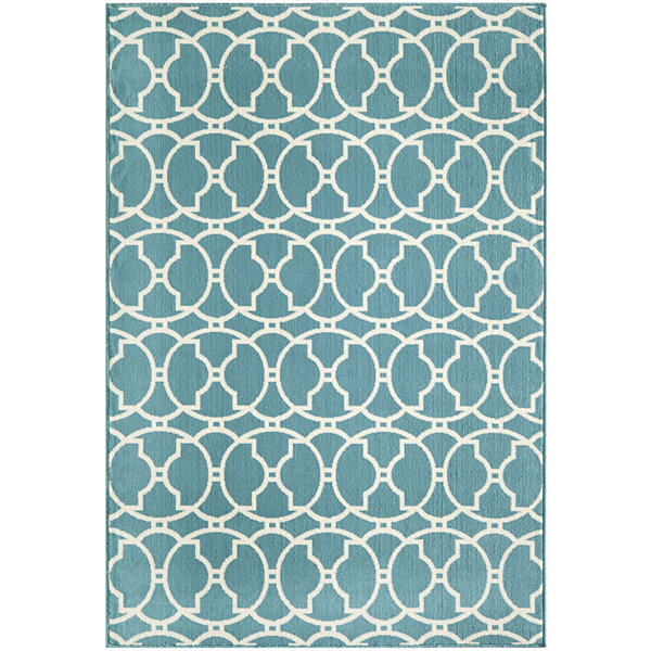 Momeni® Baja Circles Indoor/Outdoor Rectangular Rug