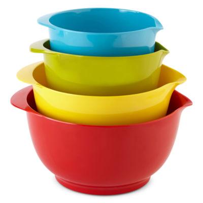Cooks 4-pc. Nesting Batter Bowl Set