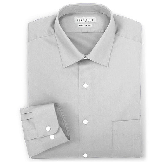 Van Heusen® Lux Sateen Dress Shirt-Big & Tall