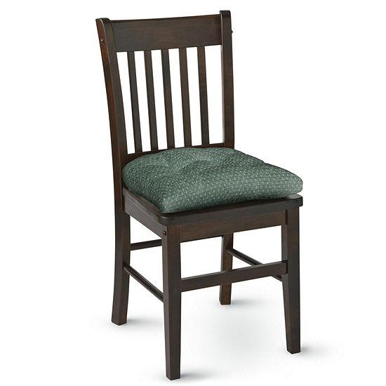 """Klear Vu Raindrops Gripper 2-Pack 3"""" Chair Cushions"""