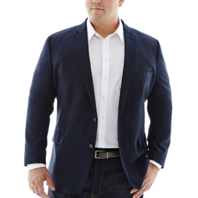 Stafford® Signature Cotton Sport Coat–Big & Tall