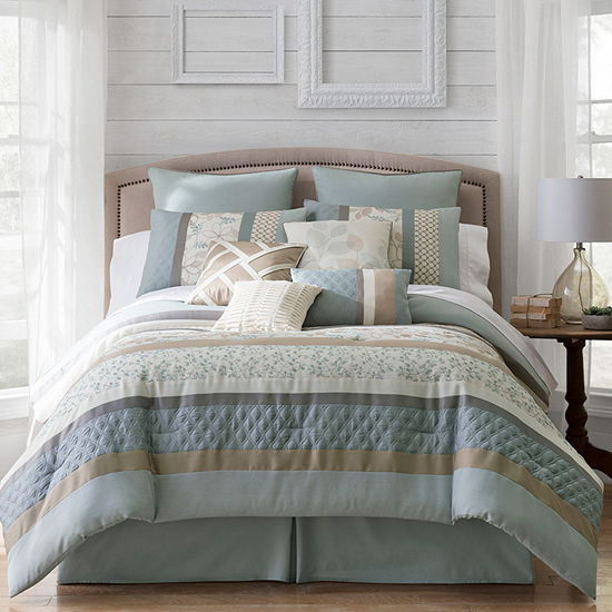 Home Expressions™ Napa 10-pc. Comforter Set