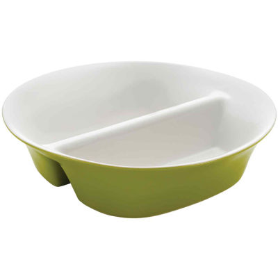 "Rachael Ray® Round & Square 12"" Divided Serving Dish"