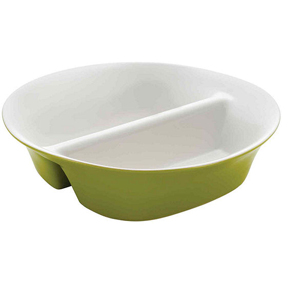 """Rachael Ray® Round & Square 12"""" Divided Serving Dish"""