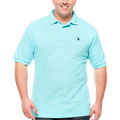 U.S. Polo Assn.® Short-Sleeve Solid Piqué Polo Shirt - Big & Tall