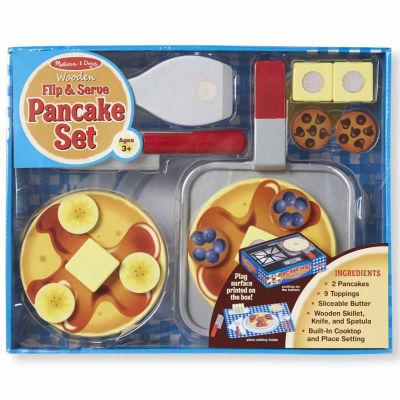 Melissa & Doug® Wooden Flip & Serve Pancake Set
