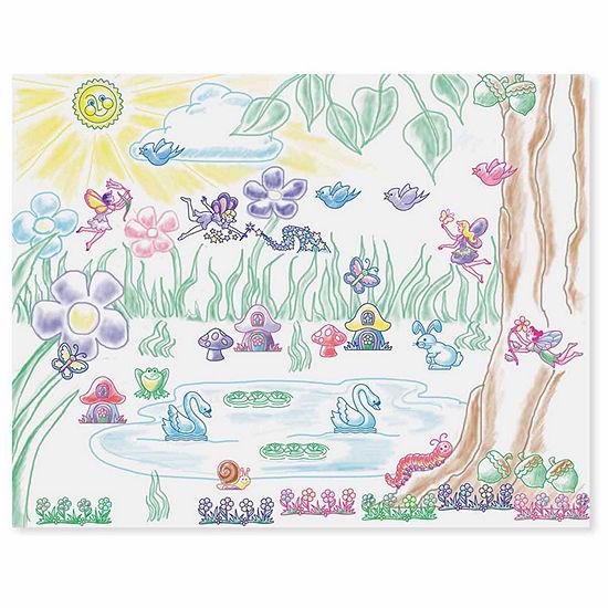 Melissa & Doug Stamp-A-Scene-Fairy Garden