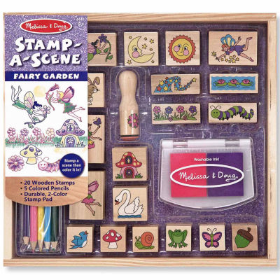 Melissa & Doug® Stamp-a-Scene-Fairy Garden