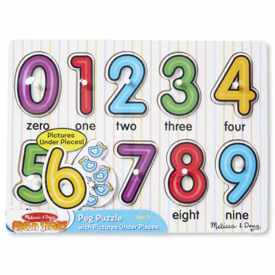 Melissa & Doug® See-Inside Numbers Peg