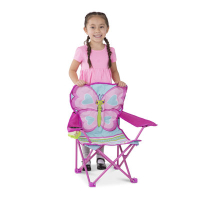 Melissa & Doug® Cutie Pie Butterfly Camp Chair