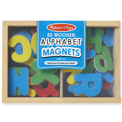Melissa & Doug® Magnetic Wooden Alphabet Set