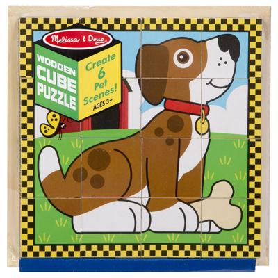 Melissa & Doug® Pets Cube Puzzle
