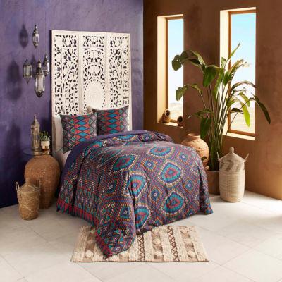 Berber Textile 3-pc. Duvet Cover Set