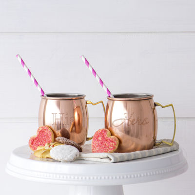 Cathy's Concepts His And Hers 2-pc. Moscow Mule Mug