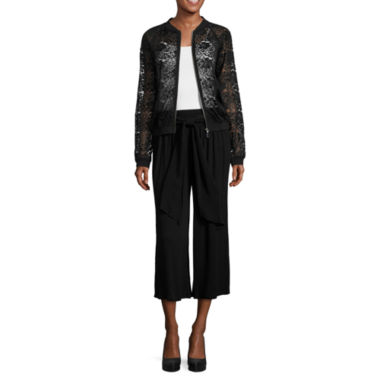 jcpenney.com | Alyx Bomber Jacket or Crepe Tie Gaucho