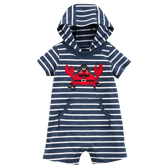 548102b4e56e Carters Short Sleeve Romper Baby JCPenney