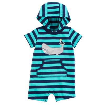 Carter's Short Sleeve Romper - Baby Boys