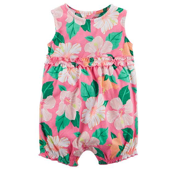 fd9c3ba06871 Carter s Sleeveless Romper - Baby Girls - JCPenney