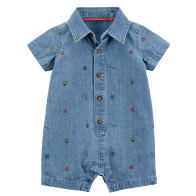Carter's Short Sleeve Romper - Baby Boys