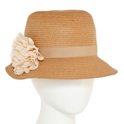 August Hat Co. Inc. Flower Cloche Hat
