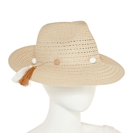 August Hat Co Inc Tassel Fedora