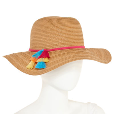 Mixit Tassel Floppy Hat