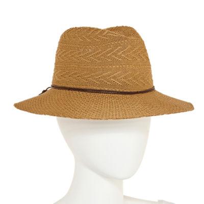 Scala Woven Panama Hat