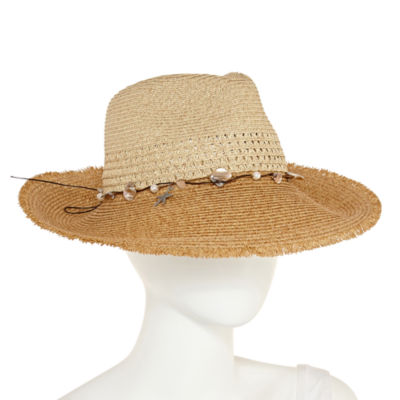 Scala Stripped Panama Hat