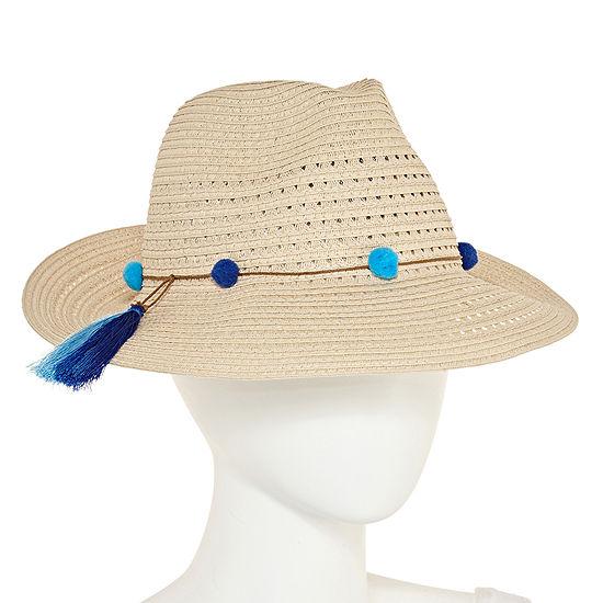 August Hat Co Inc Tassel Fedora