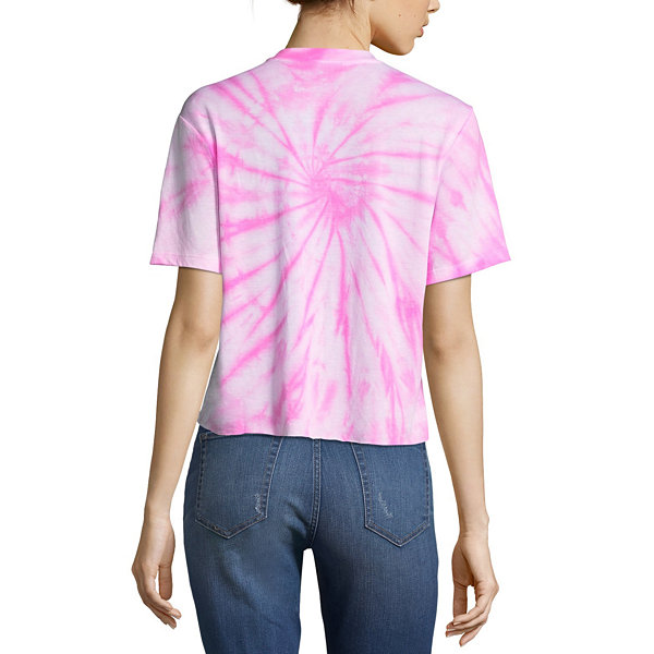 Let's Get Weird Graphic Cropped Tee - Juniors