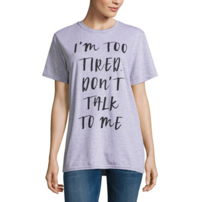 """""""Don't Talk to Me"""" Tee - Juniors"""