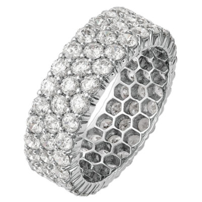 Womens 3 5/8 CT. T.W. Genuine White Diamond 14K Gold Eternity Band