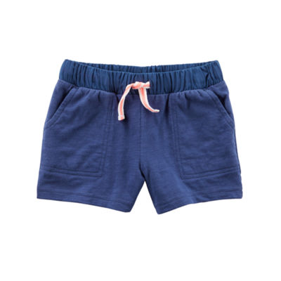 Carter's Solid Knit Pull-On Shorts Preschool Girls