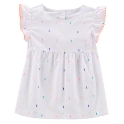 Carter's Short Sleeve Babydoll Top - Preschool Girls