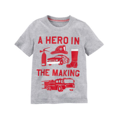Carter's Short Sleeve Graphic T-Shirt-Preschool Boys