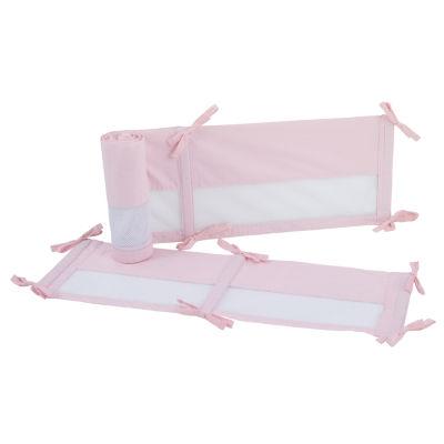Nojo Ballerina Bows 1 Pair Microfiber Crib Liner
