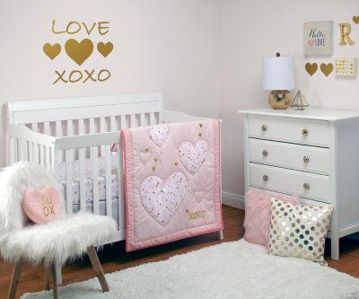 Nojo She'S So Lovely 4-pc. Crib Bedding Set